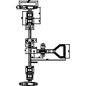Замок штанговый