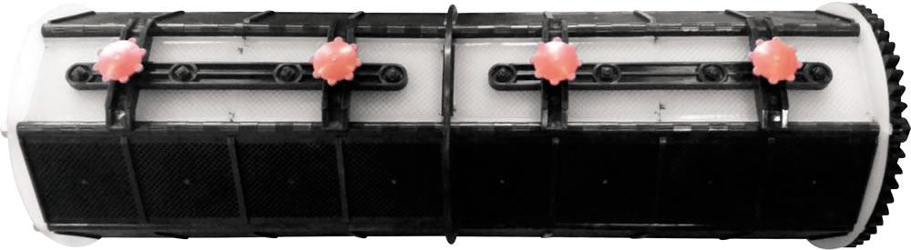 Обечайка на барабан (7 секций 7 граней)